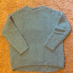 Women's J.Crew teal sweater size sm